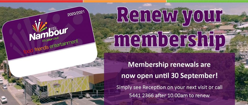 Nambour RSL   It's your club!